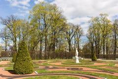 凯瑟琳公园风景在春天 图库摄影