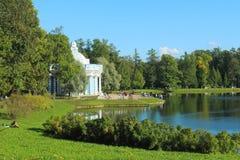 凯瑟琳公园 俄罗斯, Tsarskoe Selo 图库摄影