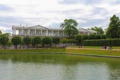 凯瑟琳公园 Tsarskoye Selo,圣彼得堡 免版税库存图片