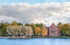 凯瑟琳公园 Tsarskoye Selo 圣彼德堡 俄国 库存照片