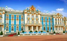 凯瑟琳宫殿俄国 免版税库存图片