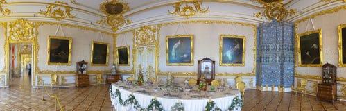 凯瑟琳宫殿内部  图库摄影