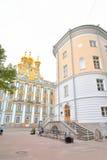 凯瑟琳宫殿在Tsarskoe Selo 免版税图库摄影