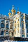 凯瑟琳宫殿彼得斯堡俄国selo st tsarskoe 免版税图库摄影