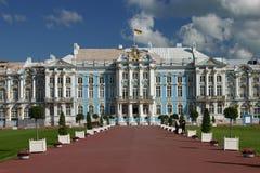 凯瑟琳宫殿petersbu st 免版税库存图片
