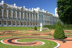 凯瑟琳宫殿petersbu st 免版税库存照片