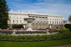 凯瑟琳宫殿pushkin俄国selo tsarskoe 免版税图库摄影