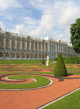凯瑟琳宫殿pushkin russ selo tsarskoye 库存图片