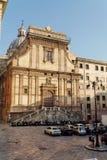 凯瑟琳教会意大利巴勒莫圣徒西西里岛 免版税图库摄影