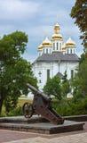凯瑟琳的教会, Chernihiv,乌克兰 免版税库存照片