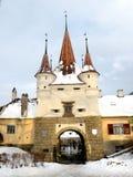 凯瑟琳的门Kronstadt (布拉索夫) 库存图片