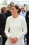 凯瑟琳,剑桥的公爵夫人 库存照片