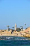 凯瑟里雅以色列 库存照片