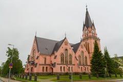 凯米,芬兰-教会 免版税库存图片