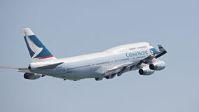 凯茜和平的客机 免版税库存照片