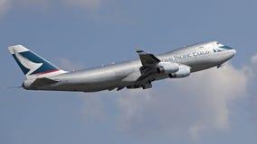 凯茜和平的货物航空器 免版税库存图片