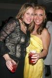 凯西Hartman和Jacquie火焰  库存图片