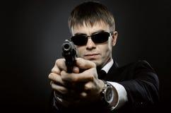 凶手 免版税库存图片