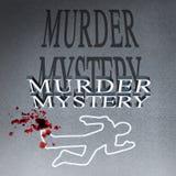 凶杀案秘诀 向量例证