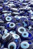 凶眼,传统土耳其纪念品 免版税库存图片