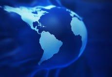 凸起的地球 免版税库存图片