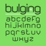 凸起的字体 图库摄影