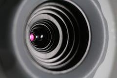 凸轮接近的万维网 免版税库存照片