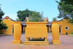 凸轮Pho寺庙会安市,越南联合国科教文组织世界遗产名录 库存照片