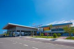 凸轮Ranh国际机场,越南 免版税库存照片