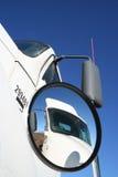 凸面卡车视图 库存照片