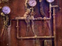 凹下去的船的内部 伊斯坦布尔水族馆 免版税库存照片