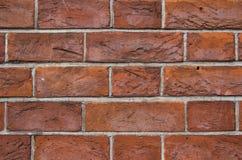 凹凸不平的砖墙纹理  库存照片