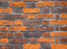 凹凸不平的砖墙纹理  免版税库存图片