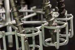 凹轮轴熔铸的零件 免版税库存图片