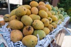 出售的芒果在泰国 库存照片