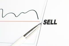 出售股票 库存图片