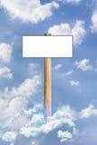 出版在天空 免版税图库摄影