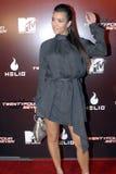 出现的kardashian金 免版税图库摄影