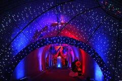 出现萨格勒布,玩具世界在隧道Gric, 4的 图库摄影