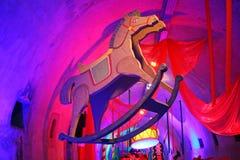 出现萨格勒布,玩具世界在隧道Gric, 8的 图库摄影