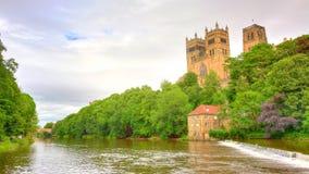 出生地主教大教堂基督教达翰姆英国家庭王子 图库摄影