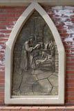 出生她的耶稣judea爱玛丽亚母亲的betlehem诞生是 免版税库存图片