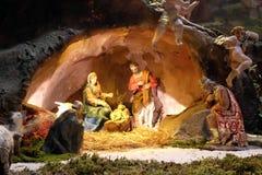 出生她的耶稣judea爱玛丽亚母亲的betlehem诞生是 图库摄影