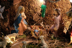 出生她的耶稣judea爱玛丽亚母亲的betlehem诞生是 库存图片