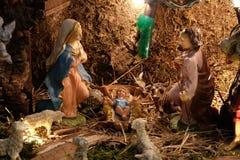 出生她的耶稣judea爱玛丽亚母亲的betlehem诞生是 免版税图库摄影