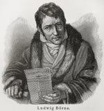 出生的路德维格 免版税库存图片