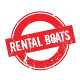 出租小船不加考虑表赞同的人 库存照片