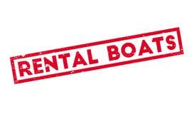 出租小船不加考虑表赞同的人 免版税图库摄影