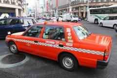 出租汽车东京 免版税库存照片