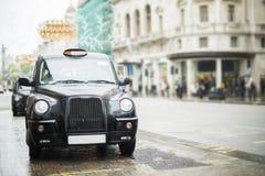 出租汽车在伦敦 免版税库存图片